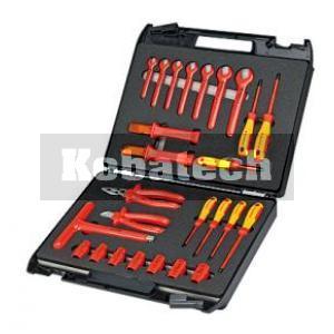 2feae6cc0acd4 Knipex 98 99 12 Štandardný kufor s náradím VDE pre elektrikárov - 26 dielny