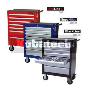 544777318857b Projahn vozík na náradie 7-zásuvkový SuperBlue 5901-50