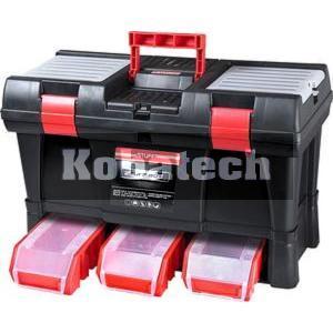 cbfec92f9723e Kufor na náradie plastový so zásuvkami 525x256x325 mm, 78814