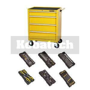 d010e8a310959 Stanley Dielenský vozík S3 – 4 zásuvky STMT1-75063+6 modulov s náradím