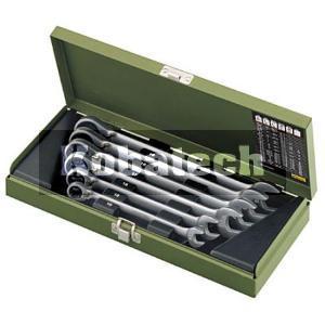 b8e8a088dc0ef PROXXON Micro-kombi očko-vidlicové račňové klúče 6diel. 10-19mm, 23124