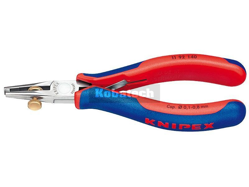 44a572b787d5e Knipex 1192140 kliešte na odstránenie izolácie pre elektroniku 140mm  Požitie: -Pre jednožilové vodiče,.