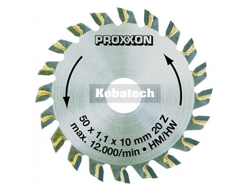 6013335cb0d21 Proxxon pílový kotúč tvrdokov 50x1,1x10 mm Z 20, 28017 Použitie pre  extrémne jemné rezy balzového dreva a.