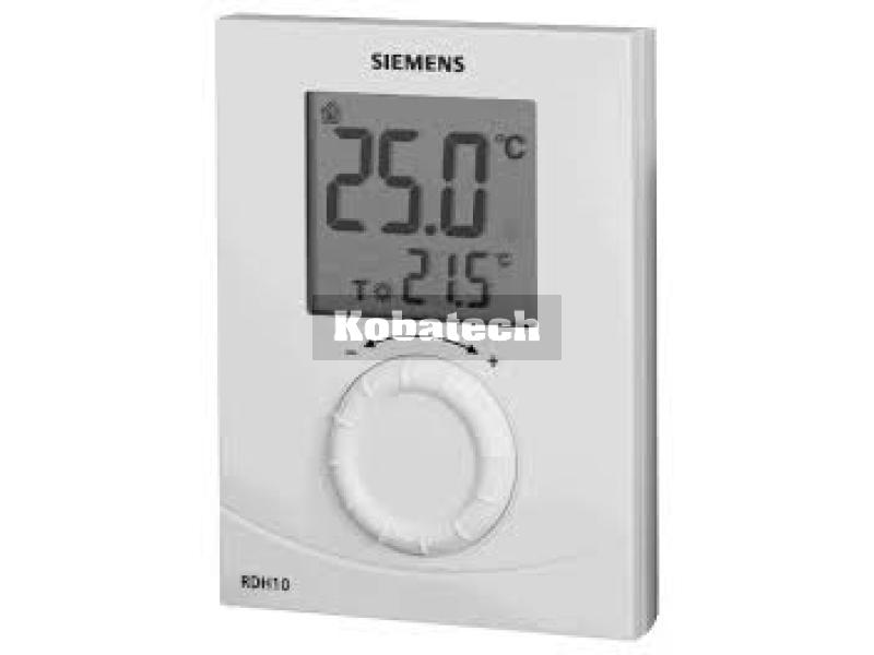 Siemens termostat priestorov rdh10 digit lny for Termostato digital siemens rdh10